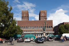 Town Hall. Oslo. Norway Stock Photography