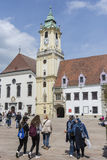 The town hall palace in Bratislava Stock Photography