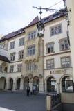The town hall palace in Bratislava Stock Photos