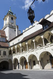 The town hall palace in Bratislava Royalty Free Stock Photography