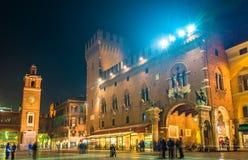 Town Hall (Palazzo Municipale) of Ferrara Stock Photo