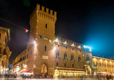 Town Hall (Palazzo Municipale) of Ferrara Royalty Free Stock Photos
