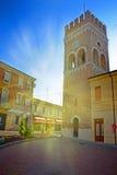 Town Hall (Palazzo Municipale) of Ferrara - Italy Stock Photos