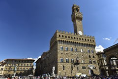 Town Hall Palazzo Vecchio (=Old Palace), Florence, Italy Stock Image