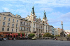 Town hall in Pardubice Stock Image