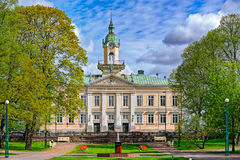 Town Hall park of Pori Stock Photo