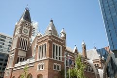 Town Hall - Perth - Australia stock image