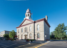 Town Hall in Perth. Ontario, Canada royalty free stock photo