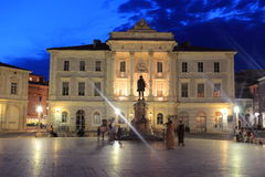 Town hall in Piran Royalty Free Stock Photo