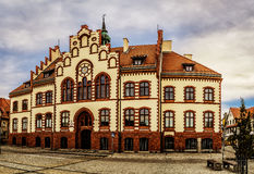 Town Hall Pisz. (Land Museum) is a city in the Warmian-Masurian Voivodeship in Poland Stock Photography