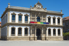 Town hall of Pontevedra Spain Royalty Free Stock Photo