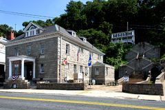 Town Hall at Port Deposit, Maryland Stock Photo