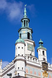 Town hall in Poznan. The Town hall in Poznan Stock Photos