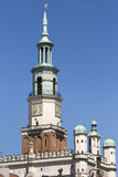 Town Hall in Poznan, Poland Royalty Free Stock Photography