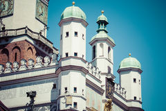 Town Hall in Poznan, Poland Royalty Free Stock Photos