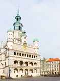 Town hall of Poznan, Poland Royalty Free Stock Photography
