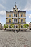 Town hall and pranger Stock Photography