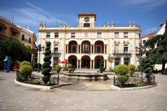 Town Hall, Priego de Cordoba. Royalty Free Stock Images