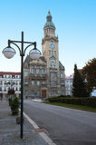 Town Hall of Prostejov. Is a city in Olomouc Region of Czech Republic, in historical region of Moravia Stock Images