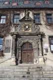 The town hall in Quedlinburg. Germany Royalty Free Stock Images