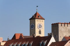 Town hall Regensburg Royalty Free Stock Image