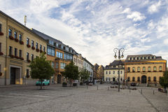 Town hall of Reichenbach (Vogtland), Germany, 2015 Royalty Free Stock Photo