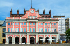 Town Hall. Rostock, Germany Royalty Free Stock Images