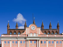 Town Hall of Rostock, Germany Stock Image