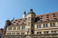 Town hall in Rothenburg Stock Photos