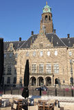 Town hall in Rotterdam, Netherlands royalty free stock photo