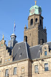 Town hall in Rotterdam, Netherlands Royalty Free Stock Images