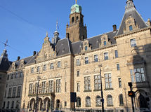 Town hall in Rotterdam, Netherlands stock image