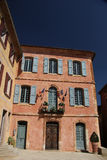 The town hall in Roussillon, Provence Stock Image