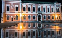 Town hall at Ruzomberok, Slovakia Royalty Free Stock Images