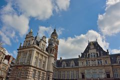 Town hall of Saint-Gilles, Neo-Renaissance Royalty Free Stock Photos