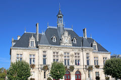Town hall in Saint-Jean-d`Angely, France Stock Photo