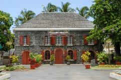 Town hall of Saint Leu on La Reunion island Royalty Free Stock Image