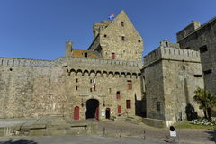Town Hall of Saint Malo, Northwest France Stock Photography