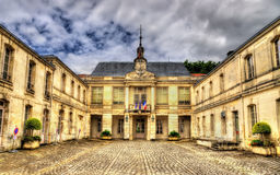 Town hall of Saintes - France Royalty Free Stock Images