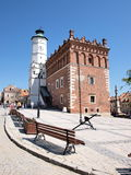 Town hall, Sandomierz, Poland Stock Images