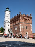 Town hall, Sandomierz, Poland Stock Photos