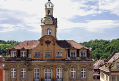 Town Hall-Schwaebisch Hall-Germany Stock Photography