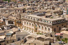 Town hall, Scicli, Sicily Royalty Free Stock Images