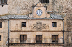 Town Hall of Sepulveda, Segovia, Spain Royalty Free Stock Image