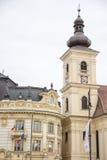 Town Hall , Sibiu Stock Images