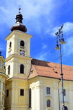 Town Hall Sibiu Romania Stock Images