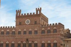 Town Hall Siena, Italy Stock Image