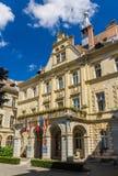 Town hall of Sighisoara - Transylvania Stock Image