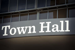 Town hall Stock Photography