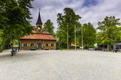 Town Hall of Sigtuna, Sweden Stock Image